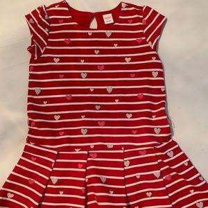 Gymboree Girls Valentines Dress - Size 7